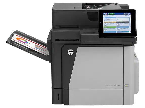 Drucker HP Color LaserJet Enterprise M680dn MFP