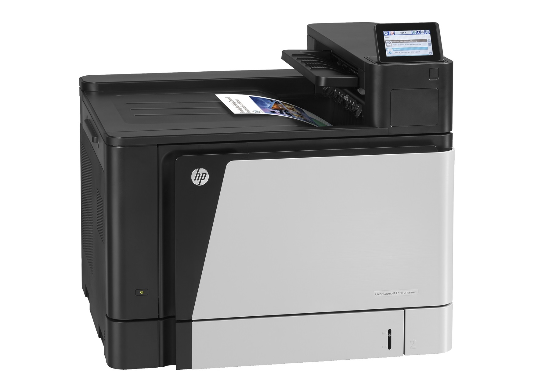 Drucker HP Color LaserJet Enterprise M855dn