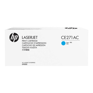 CE271AC  Contract Toner HP 650A cyan