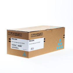 407717 - Ricoh Toner Typ SPC252HE, cyan, hohe Reichweite