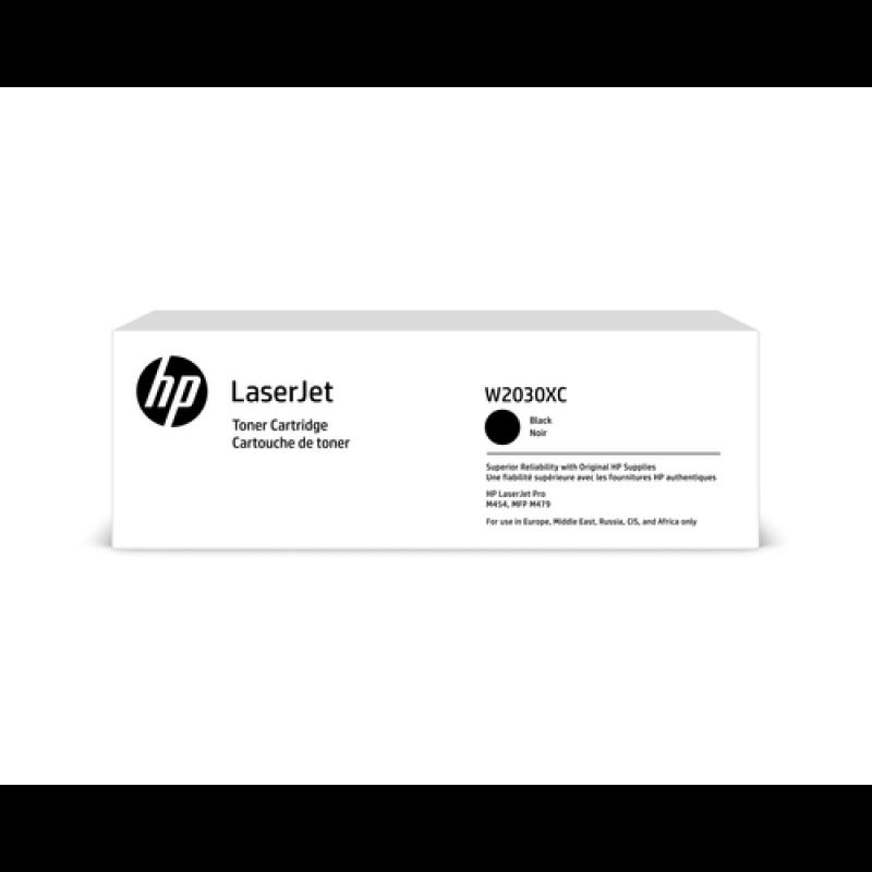 HP 415X Tonerkassette (Contract-Toner) W2030XC, schwarz, 7.500 Seiten
