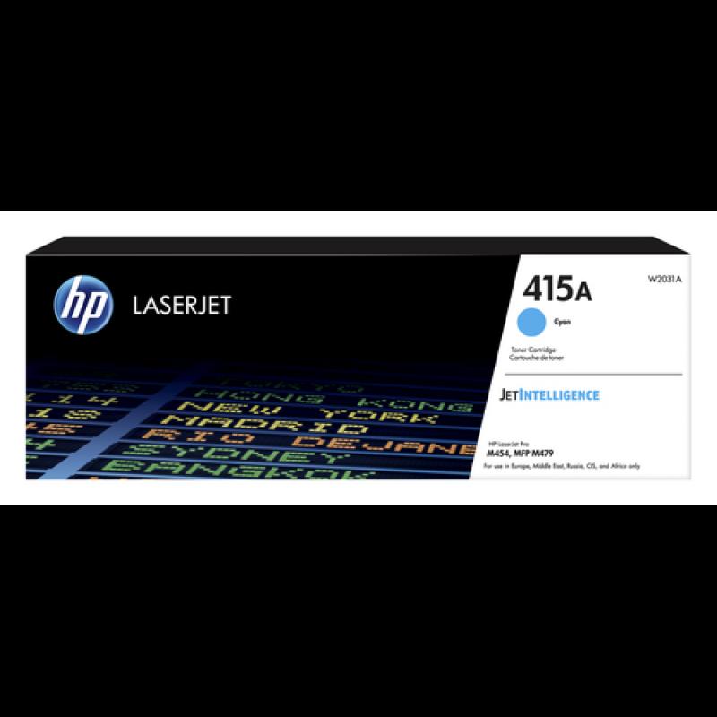 HP 415A Tonerkassette W2031A cyan, 2.100 Seiten