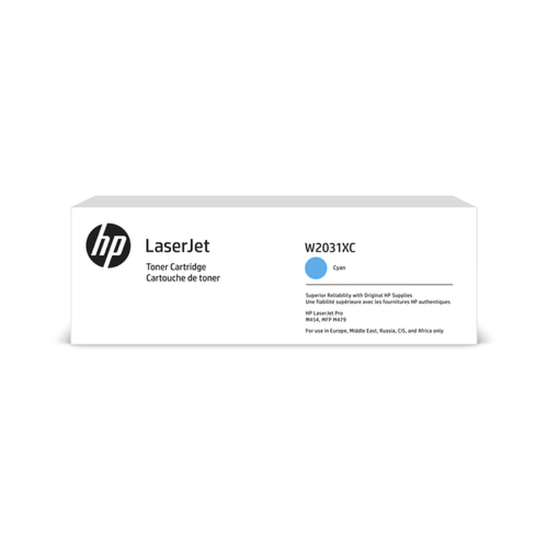 HP 415X Tonerkassette (Contract-Toner) W2031XC cyan,, 6.600 Seiten