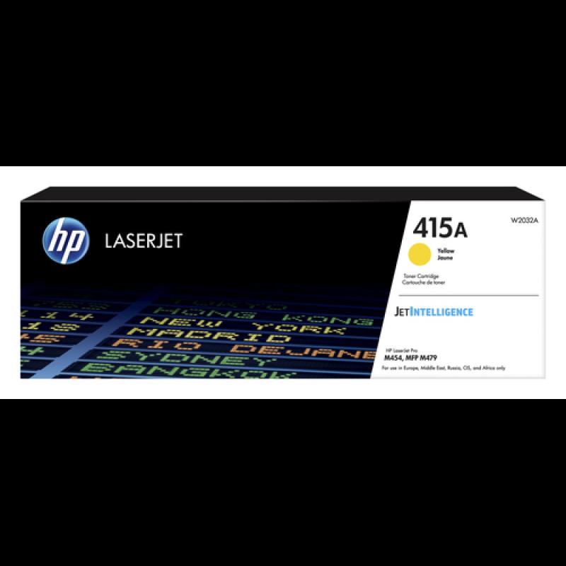HP 415A Tonerkassette W2032A gelb, 2.100 Seiten