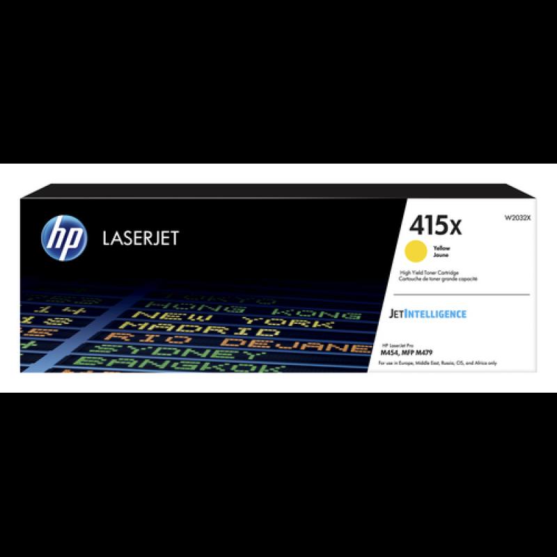 HP 415X Tonerkassette W2032X, gelb, 6.600 Seiten