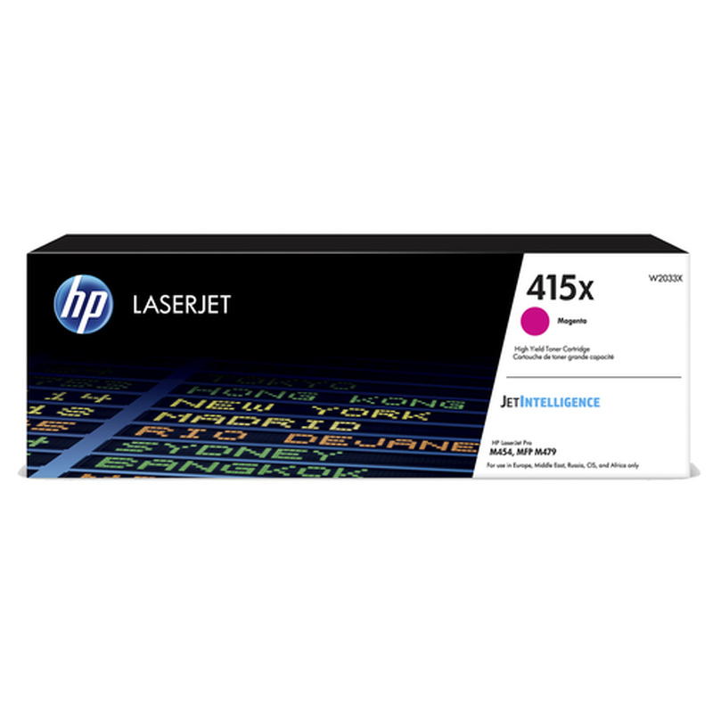 HP 415X Tonerkassette W2033X, magenta, 6.600 Seiten