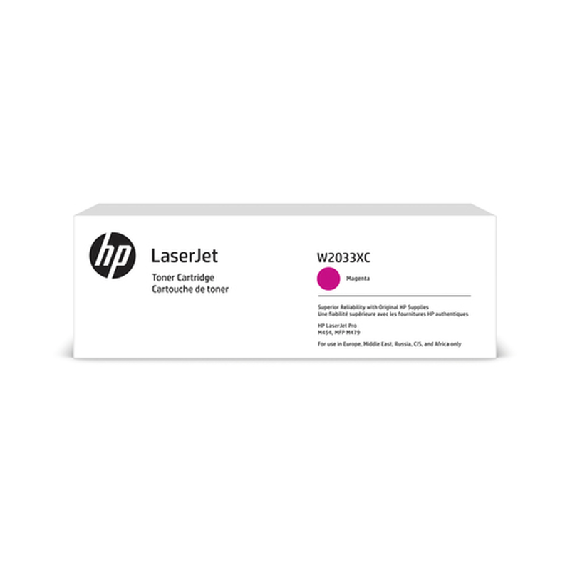 HP 415X Tonerkassette (Contract-Toner) W2033XC magenta,, 6.600 Seiten