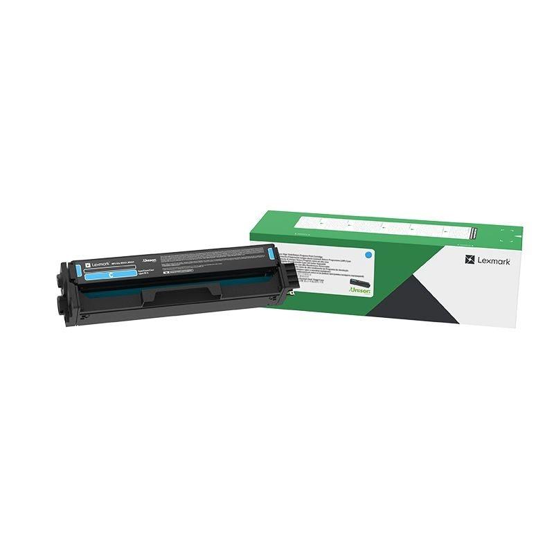 Lexmark Tonerkassette 20N20C0 cyan, Standard-Reichweite