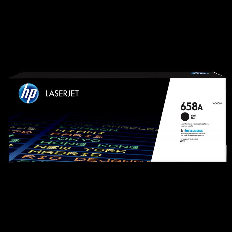 HP 658A Tonerkassette W2000A, schwarz, 7.000 Seiten