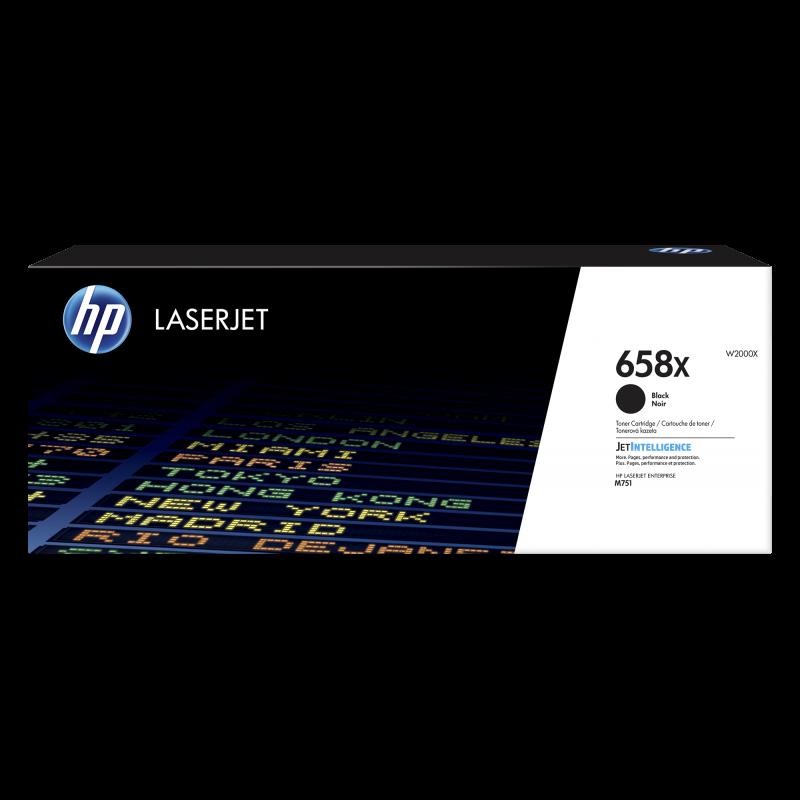 HP 658X Tonerkassette W20030X. schwarz, 33.000 Seiten