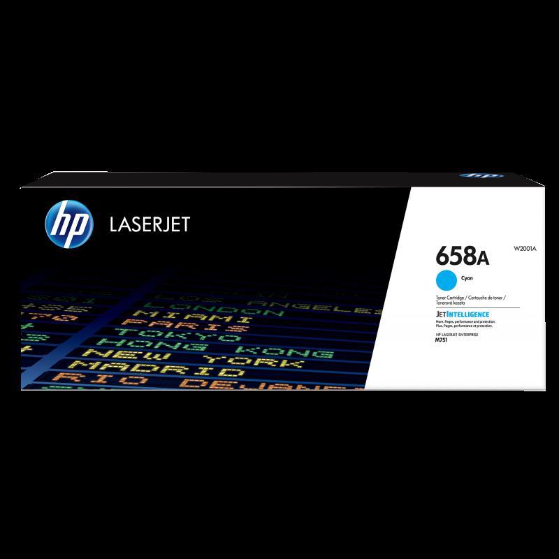 HP 658A Tonerkassette W2030A cyan, 6.000 Seiten