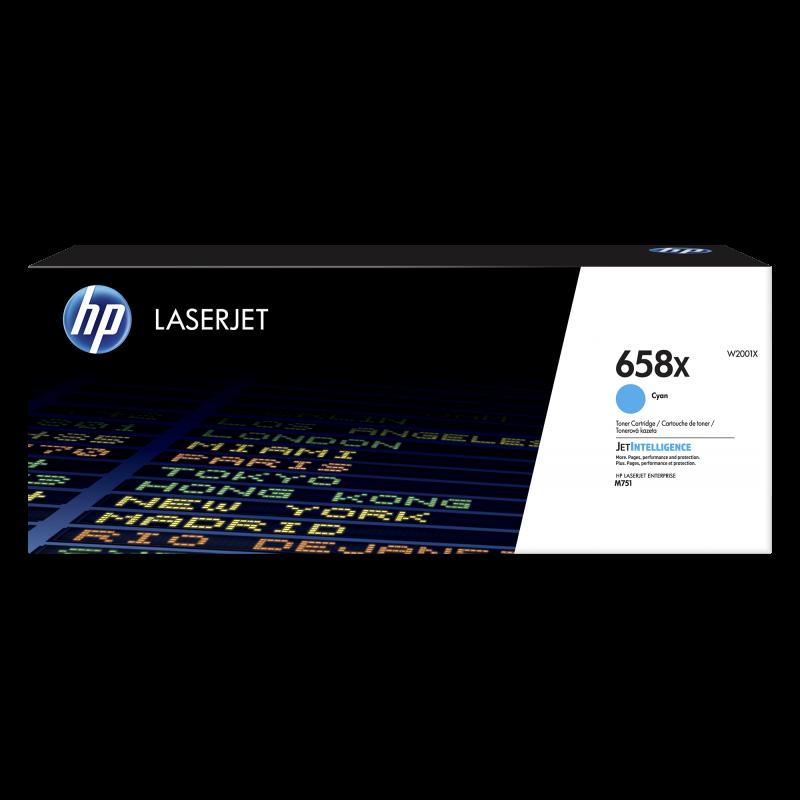 HP 658X Tonerkassette W2001X, cyan, 28.000 Seiten