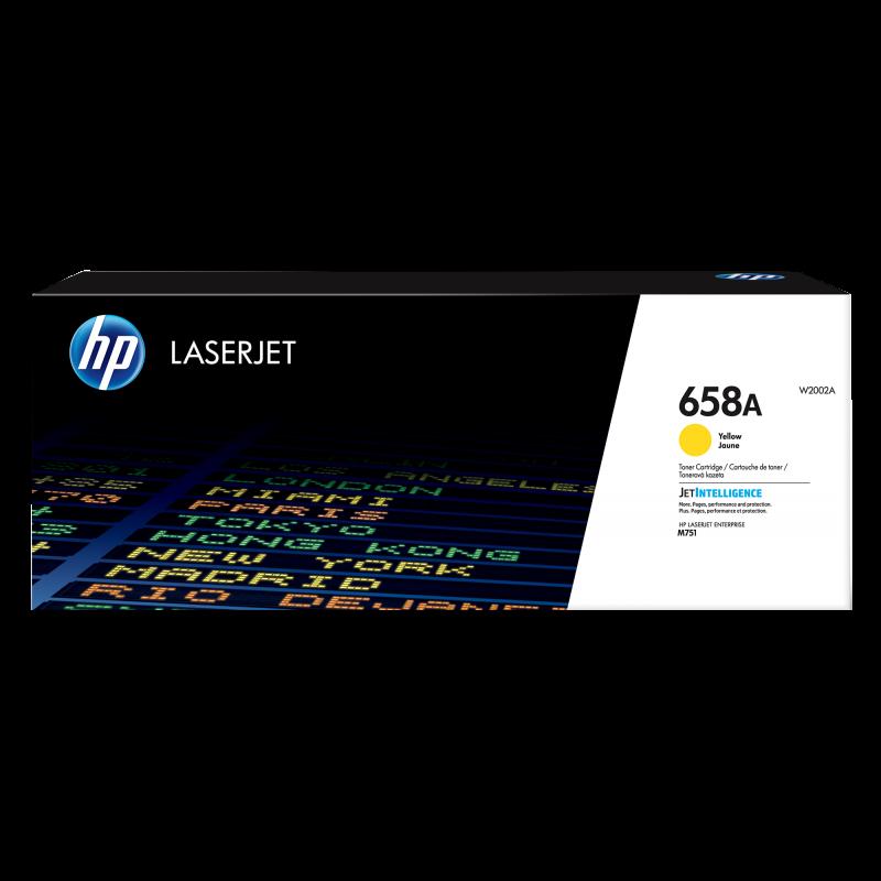 HP 658A Tonerkassette W2002A gelb, 6.000 Seiten