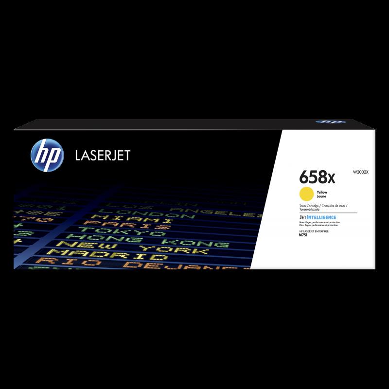 HP 658X Tonerkassette W2002X, gelb, 28.000 Seiten
