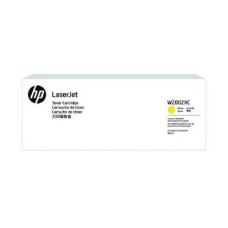 HP 658X Tonerkassette (Contract-Toner) W2002XC gelb, 28.000 Seiten