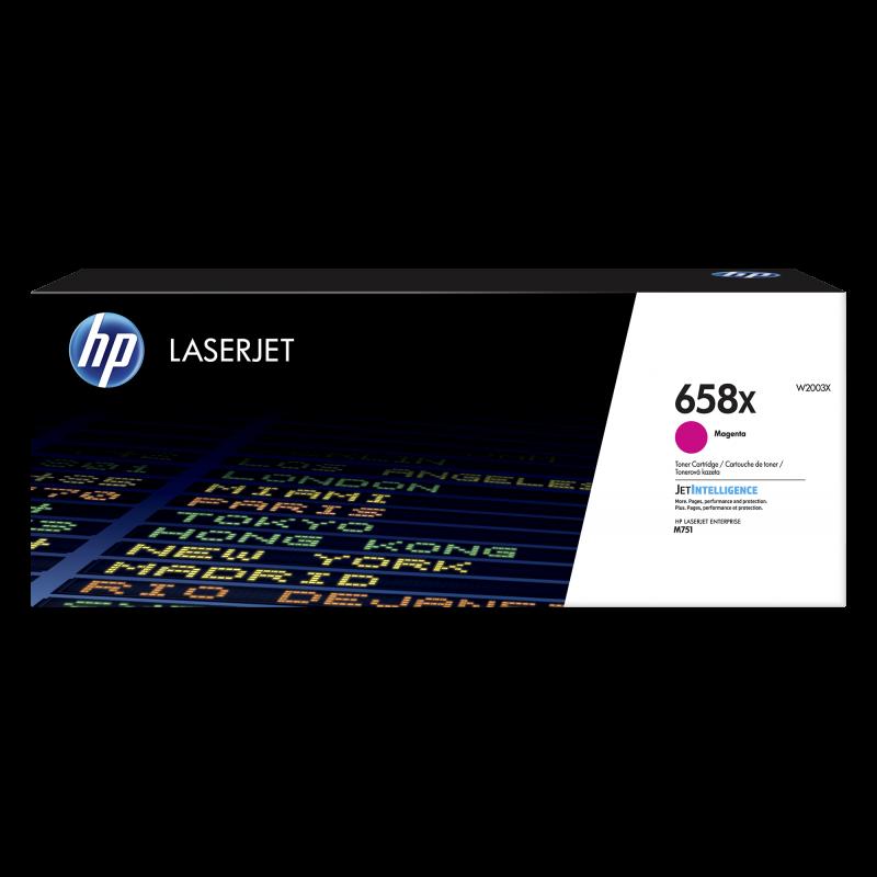 HP 658X Tonerkassette W2003X, magenta, 28.000 Seiten